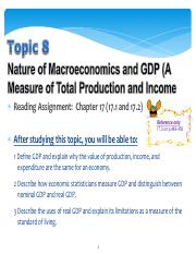 Ss L Topic 08 W09 GDP