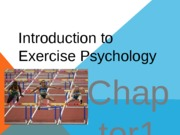 Ch 1- Introduction to Spt  Ex Psych