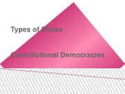 Lecture 5 - Constitutional Dems