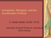 Immigrants, Refugees, and the Acculturation Process_2-1