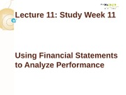 IFA-1Lecture 11_Using_Financial_Statement_for_Analysis