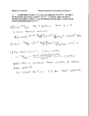 Written Homework 13 Solutions