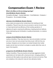 CompensationExam1Review