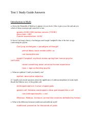 Test 1 Study Guide Answers.docx