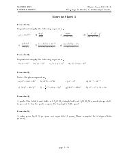 Maths WT15.16 Exercise Sheet 01