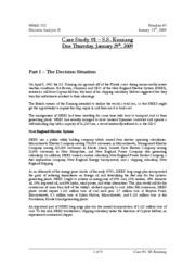 ss kuniang case study