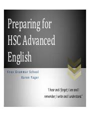 Preparing for the demands of HSC ADV English_Karen Yager.pdf