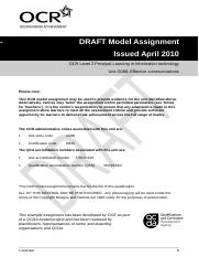 72667-unit-g088-effective-communications-model-assignment-qcda-endorsed