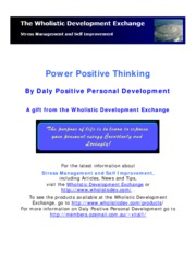 Power-Positive-Thinking
