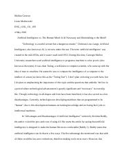 Artificial Intelligence Research Paper.docx