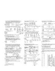 Acct 285 - Exam 1 - Cheat Sheet