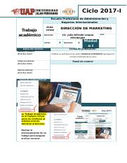 DIRECCIÓN DE MARKETING.doc