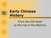 Early Chinese History.pptx