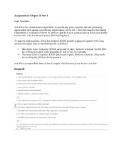 Assignment for Chapter 26 Part 1.docx
