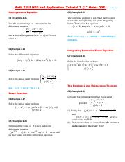 (17-18 Spring) Math 2351 ODE and Application  Tutorial 3 (1st Order ODE).pdf