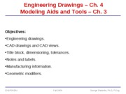 Lecture 3 ENGR3030U Zeid Ch 4 and 3