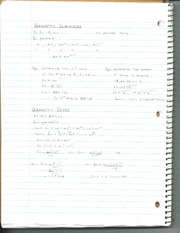 Sequences and Series Notes Part 2