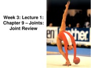 Z331 Fall 2010 Ecampus Week 3 Joints Lecture 1 Review Posted