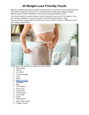 20 Weight Loss Friendly Foods.pdf