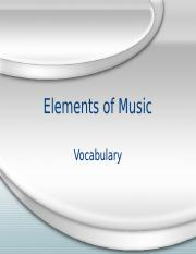 Music Appreciation Vocab 1.ppt