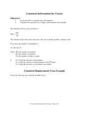 Notes 5 - Consistent Deformation Truss Example