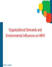 2) Organizational and Environmental Influences.pptx