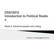 lecture 8 elections and voting(1)