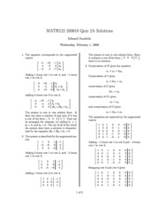 MATH122-200610-QZ02a-Solutions