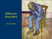 Ch11-AffectiveDisorders
