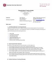 COMM 3323 Organizational Communication Syllabus SP 16 (2).docx
