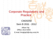 Lecture 1 (CRP) amended 070112