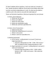 What to studyfirstexamprinciples.docx