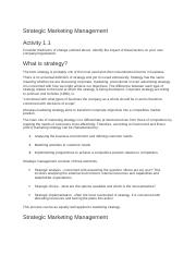 Strategic Marketing Managemen1.docx