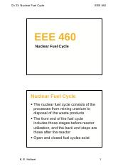 EEE460-Lect27-NuclearFuelCycle(1).pdf