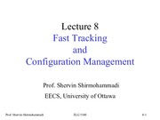 Lecture8 Fast Tracking and Configuration Management for Software Project Management