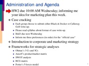 Mgmt 324 Notes (Marketing Strategy)