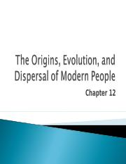 Lecture 12 - Chapter 12 - Archaic modern sapiens and floresiensis.ppt