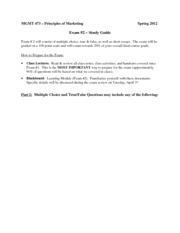 MGMT 473_Exam #2 Study Guide_