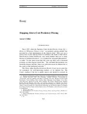 Stopping Above-Cost Predatory Pricing, Yale Law Journal.pdf