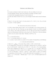 MATH 3E03 Fall 2010 Midterm Solutions