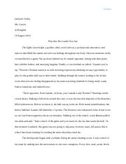 State Title Essay