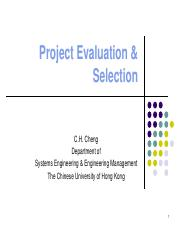 project-evaluation-&-selection