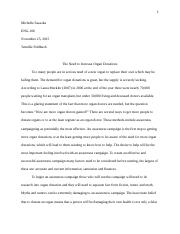 Proposal Essay  Final Draft   Michelle Sasaoka Eng Tennille   Pages Proposal Essay  Rough Draft