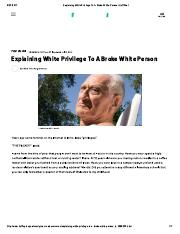 Explaining White Privilege To A Broke White Person _ HuffPost.pdf