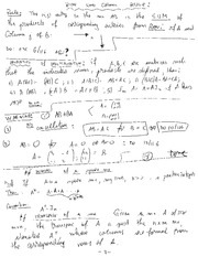 MECH 465 Properties of a Square Mix Notes