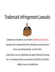 Week 3 - Trademark Infringement Lawsuits (Logos).pptx