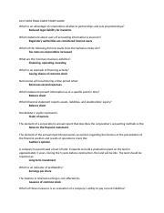 Final Study Guide 2