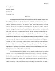 Essay on Education