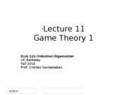 Lecture11_GameTheory1_Econ121_Fall2010+_Revised_