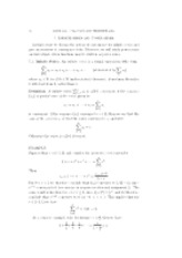 MATH1116 Analysis Lectures 11-14